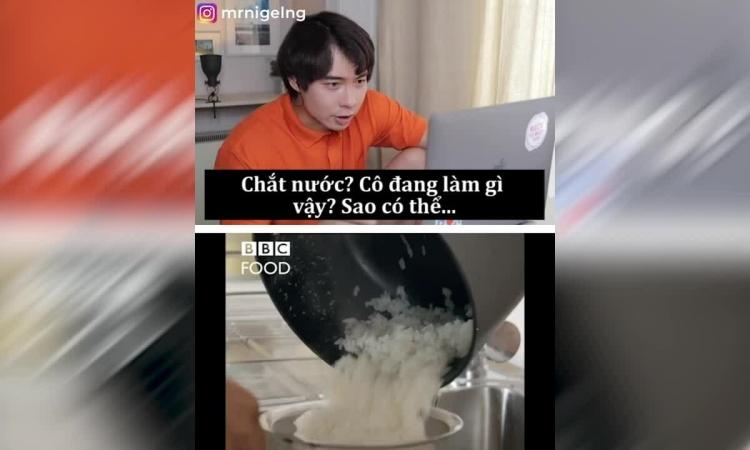 Dư luận dậy sóng khi xem đầu bếp Tây nấu cơm