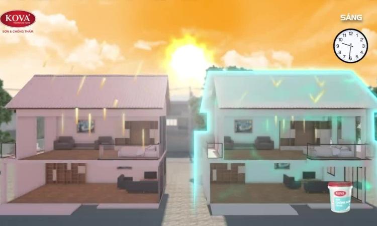 Giải bài toán chống nóng tiết kiệm cho nhà ở Nam Bộ