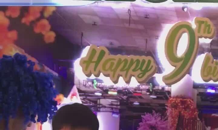 Hồ Ngọc Hà và Cường Đô la cùng nhau tổ chức sinh nhật cho con trai