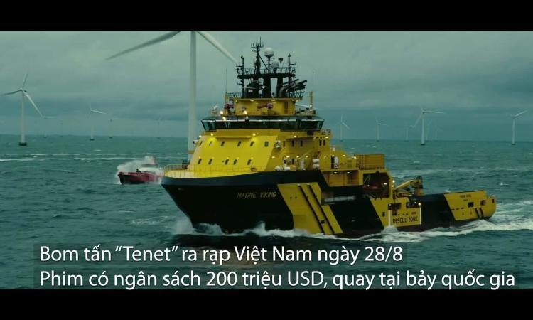 Bối cảnh đa quốc gia trong 'Tenet' của Christopher Nolan