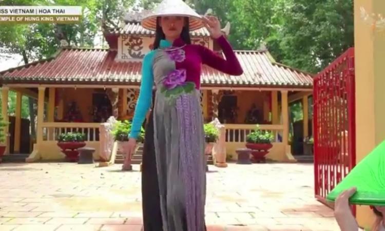 Thái Thị Hoa thi mùa tại Miss Earth