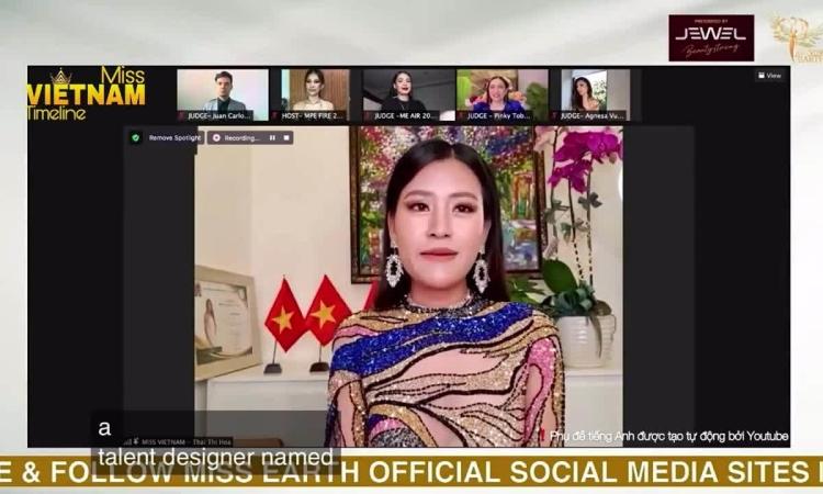 Người đẹp Việt diện váy nhái thi Miss Earth