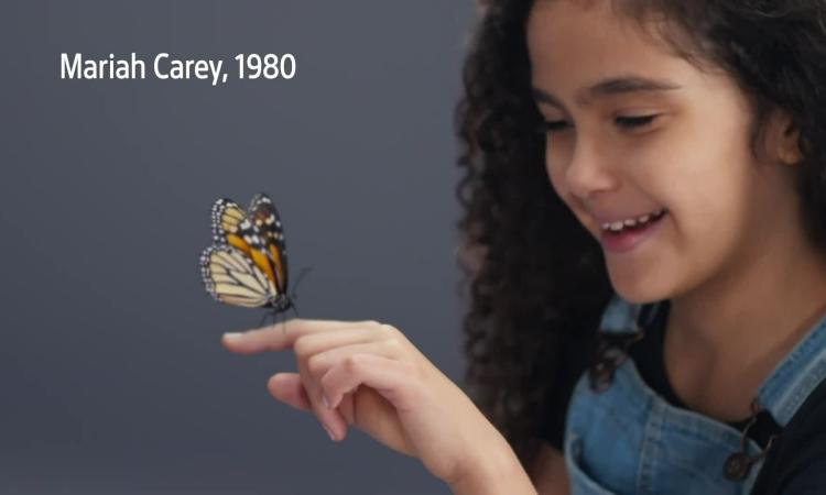 Con gái Mariah Carey lần đầu làm người mẫu