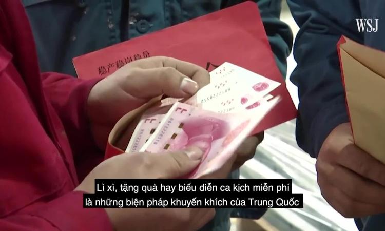 Cách công ty Trung Quốc giữ lao động ăn Tết tại chỗ