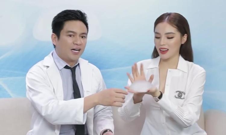 Bác sĩ Chiêm Quốc Thái: 'Không có chuyện túi ngực nổ khi đi máy bay'