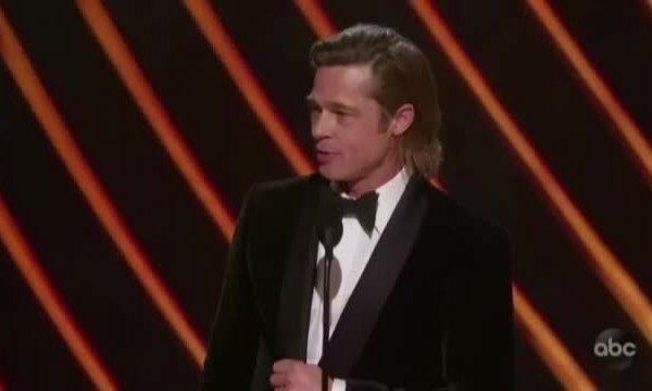 Brad Pitt nhận giải Nam phụ