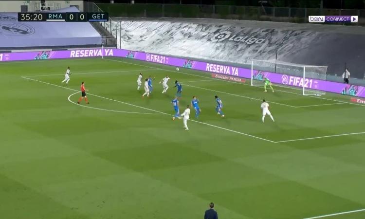 Real Madrid 1-0 Getafe