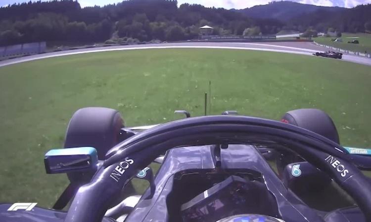 Tai nạn của Bottas ở Q3 GP Áo