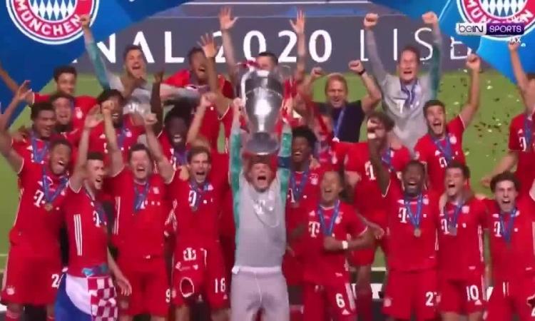 Bayern nâng Cup Champions League 2020