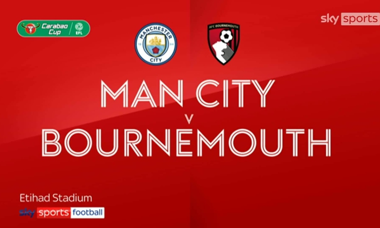 Man City 2-1 Bournemouth