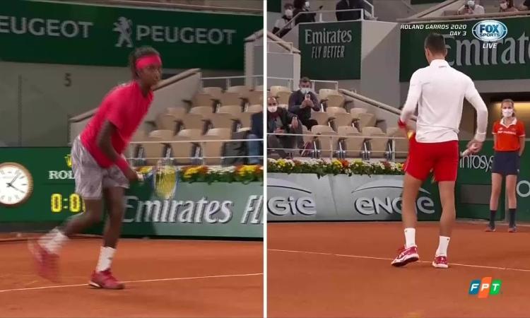 Novak Djokovic 3-0 Mikael Ymer