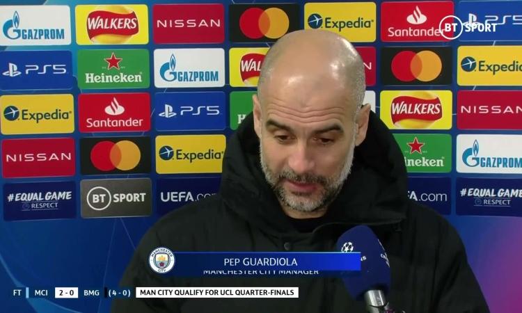 Guardiola nói về tham vọng ăn bốn