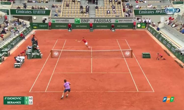 Djokovic 3-0 Berankis