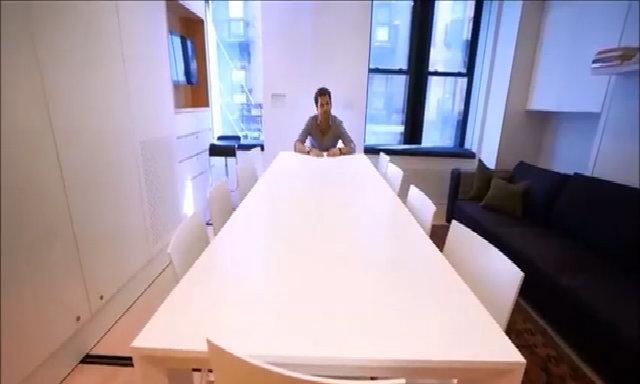 Căn hộ 39 m2 có đủ công năng của 7 phòng