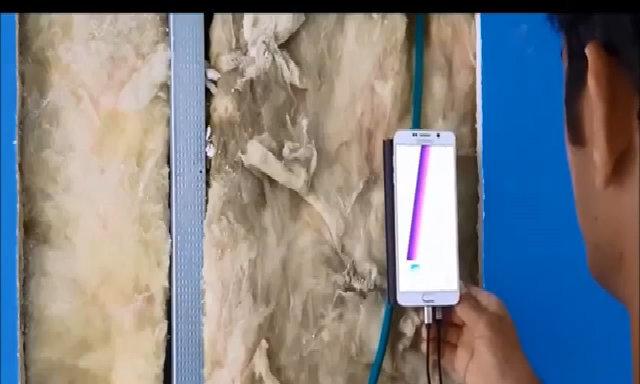 Thiết bị xuyên tường cần khi khoan đục
