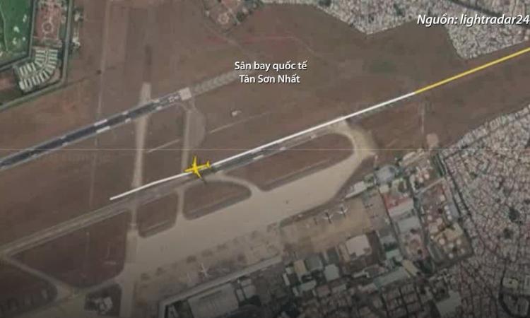 Máy bay Vietjet trượt đường băng như thế nào?