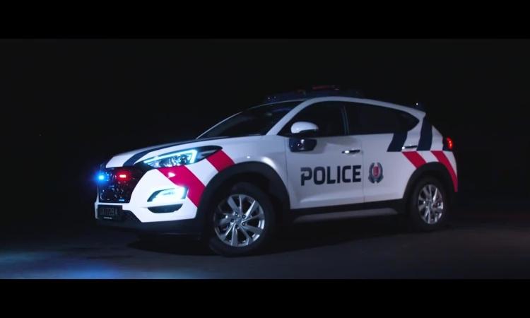 Cảnh sát Singapore sẽ được trang bị xe công nghệ cao
