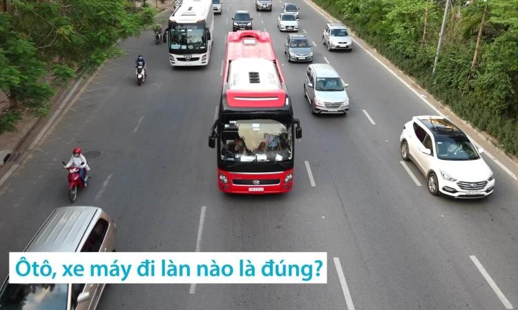 Những điều khi tham gia giao thông khiến bạn mắc lỗi