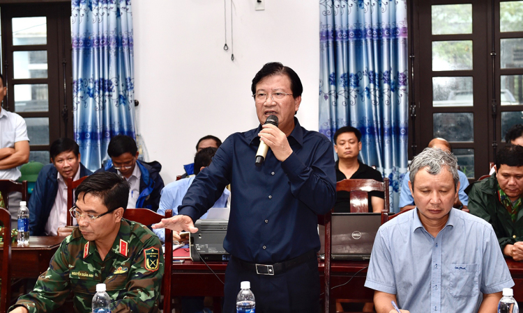 Video Phó thủ tướng Trịnh Đình Dũng