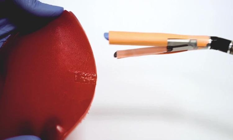 Miếng dán lấy cảm hứng từ origami giúp băng vết thương bên trong