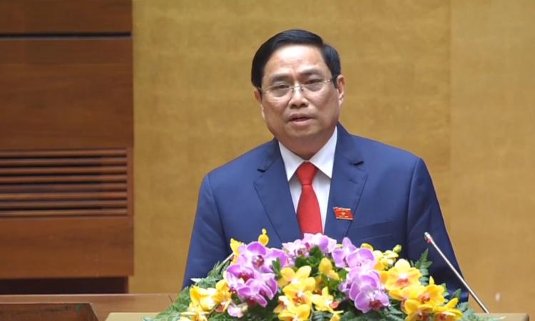 Thủ tướng Phạm Minh Chính phát biểu nhậm chức