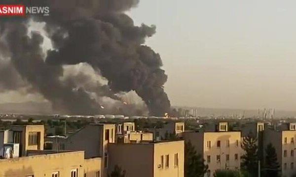 Cháy nhà máy lọc dầu Iran