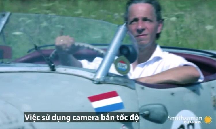 Chuyện 'ngược đời' về tay đua phát minh camera bắn tốc độ