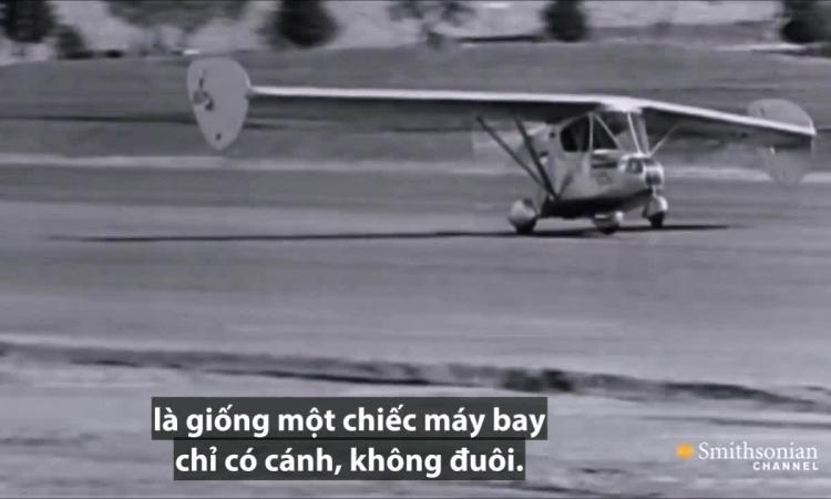 Phát minh xe bay đầu tiên ra đời gần 90 năm trước
