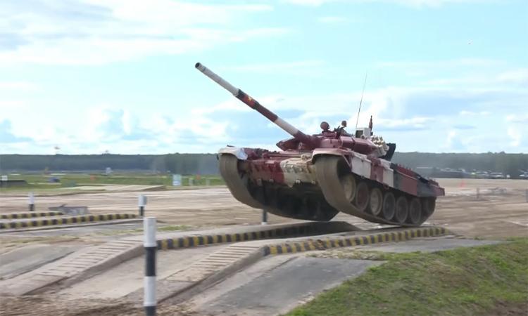 Trận mở màn của đội tuyển xe tăng Việt Nam tại Army Games
